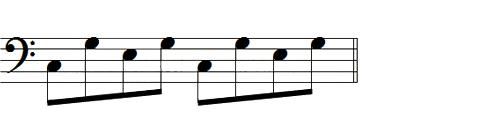 ドミソの伴奏